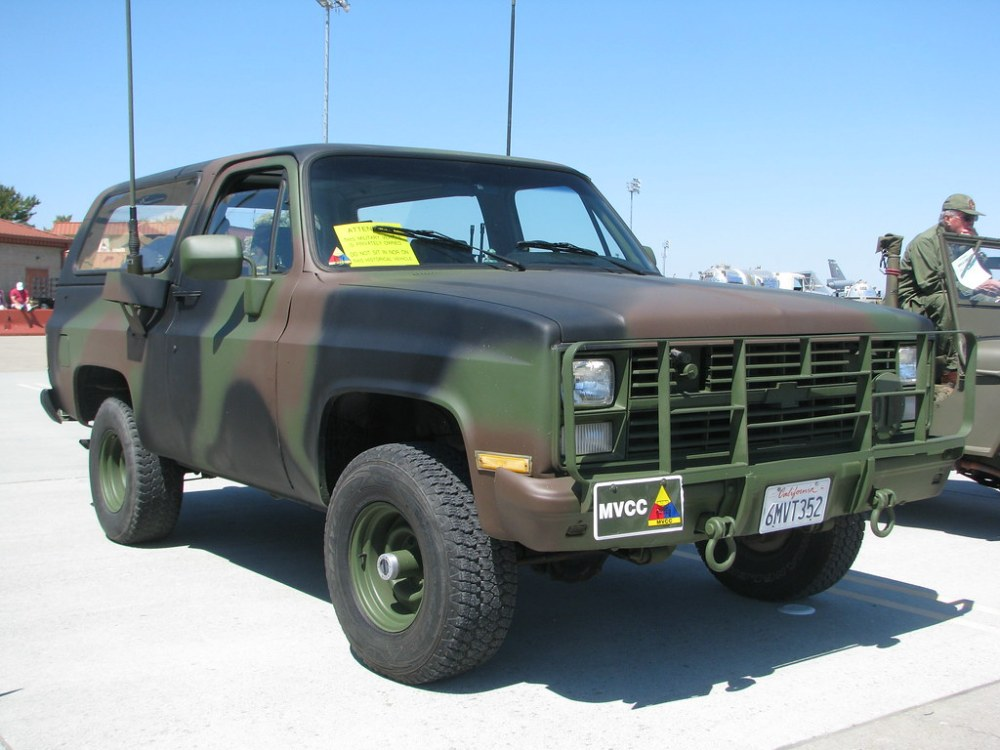 medium resolution of 1984 chevrolet blazer m1009 radio truck with trailer 1 by jack snell