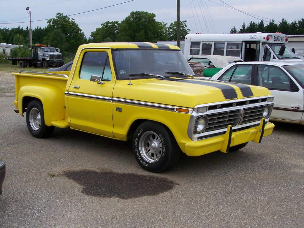 hight resolution of  1973 1976 ford f150 stepside by classicfordz