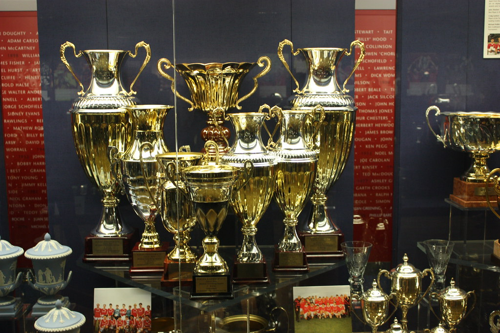 Manchester United  Old Trafford Trophy Cabinet
