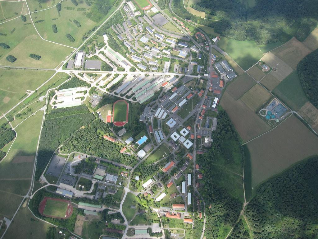 Luftbild Lager Hammelburg Ein Teil Vom Lager Hammelburg