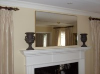 WNM Mirror over fireplace with star rosette | Ross Wade ...