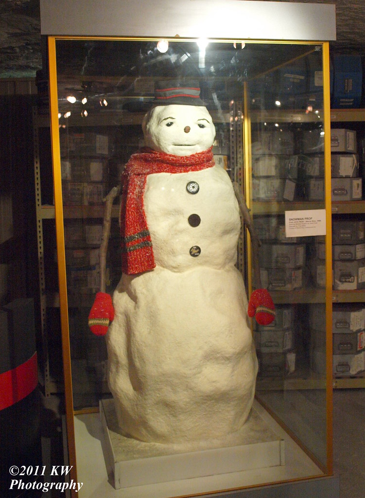 Snowman  Snowman prop from the movie Jack Frost on