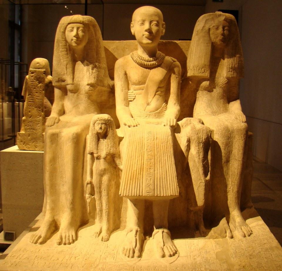 Escultura egipcia Museo Nuevo Berlin Alemania 04