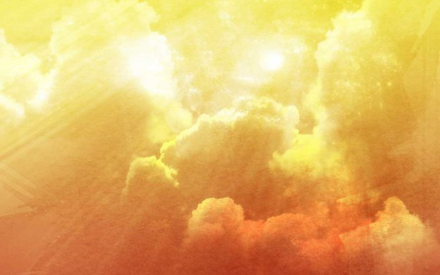 Desktop Free Wallpapers 3d Free Abstract Cloudy Sky Gradient Saffron Background Flickr