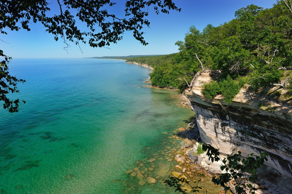 """Lake Superior"" Pictured Rocks National lakeshore - near Melstrand , Michigan"