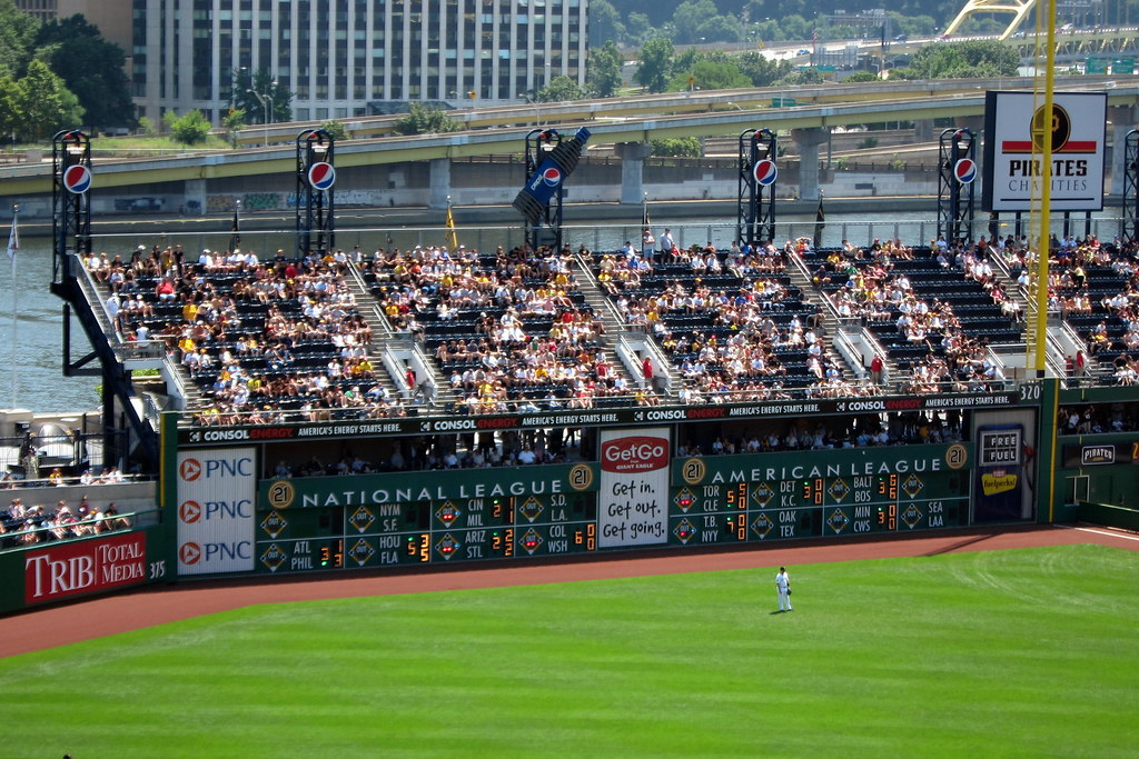 Pittsburgh  PNC Park Clemente Wall  PNC Parks right fiel  Flickr