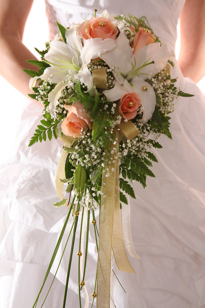 Wedding Bouquets With Bling