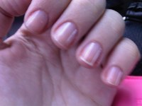 I love having short neat clear polished nails | Dustyn ...