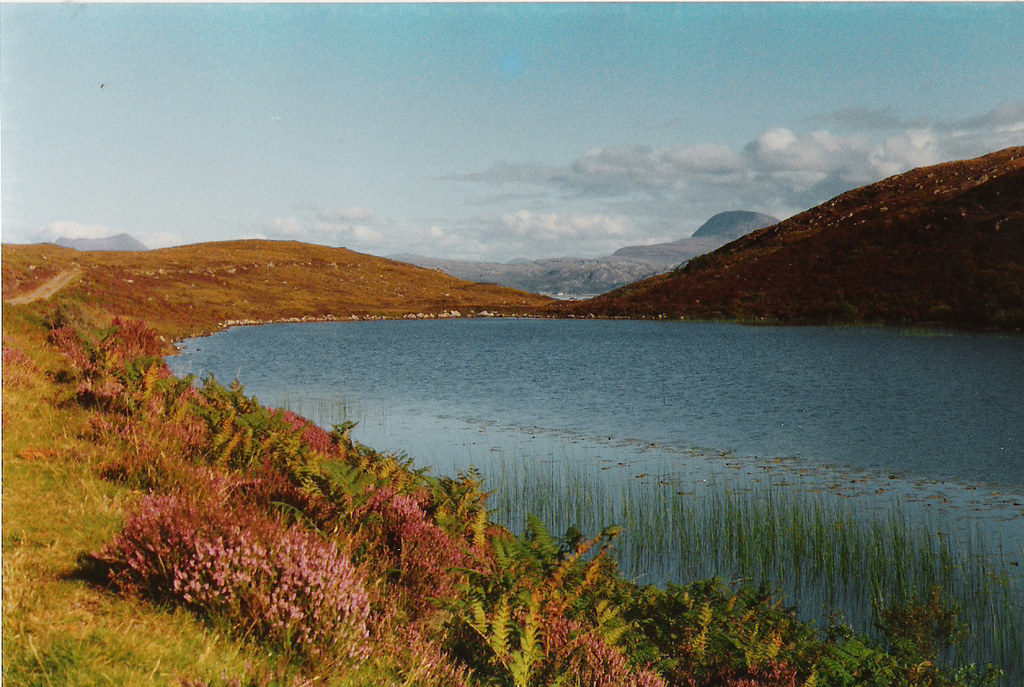 Loch na Beiste Rossshire  A fine summers day in this