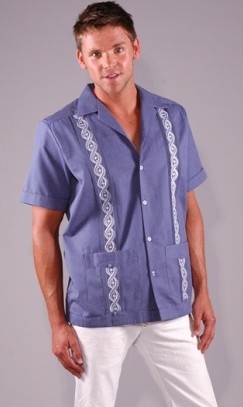 CAMISA GUAYABERA MEXICANA  Camisas Guayaberas com