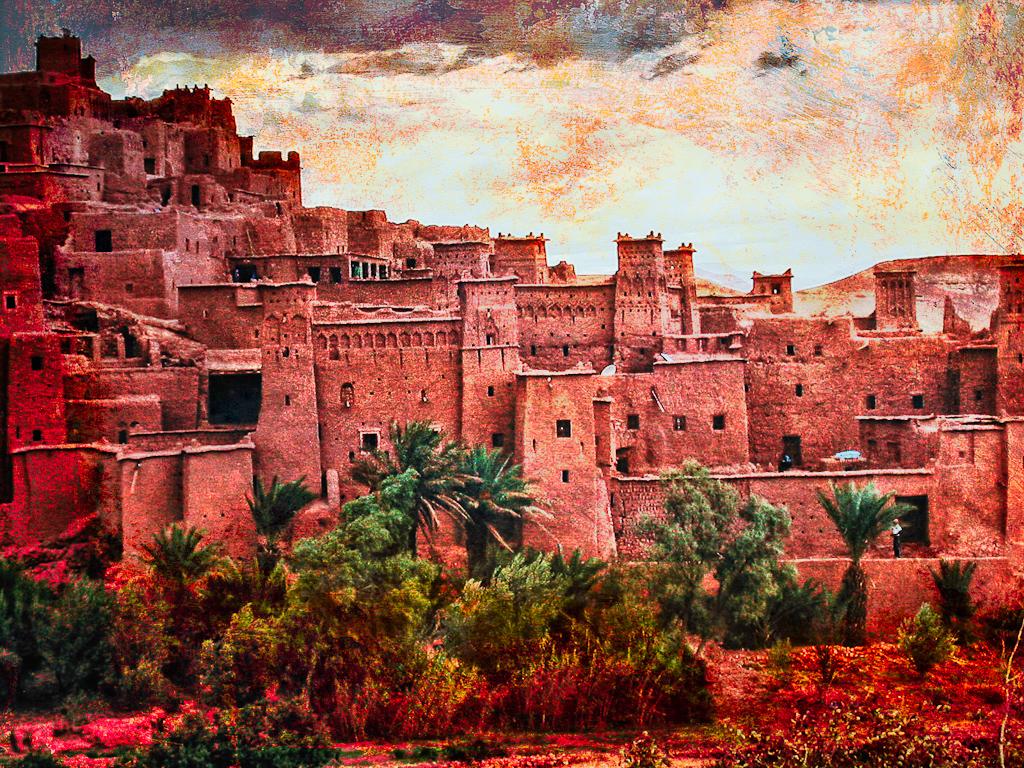 Desert 3d Wallpaper Ouarzazate Maroc Maroc A 239 T Benhaddou Village De