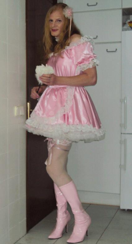 Pink sissy maid  Criada sumisa  Felicia Colette  Flickr