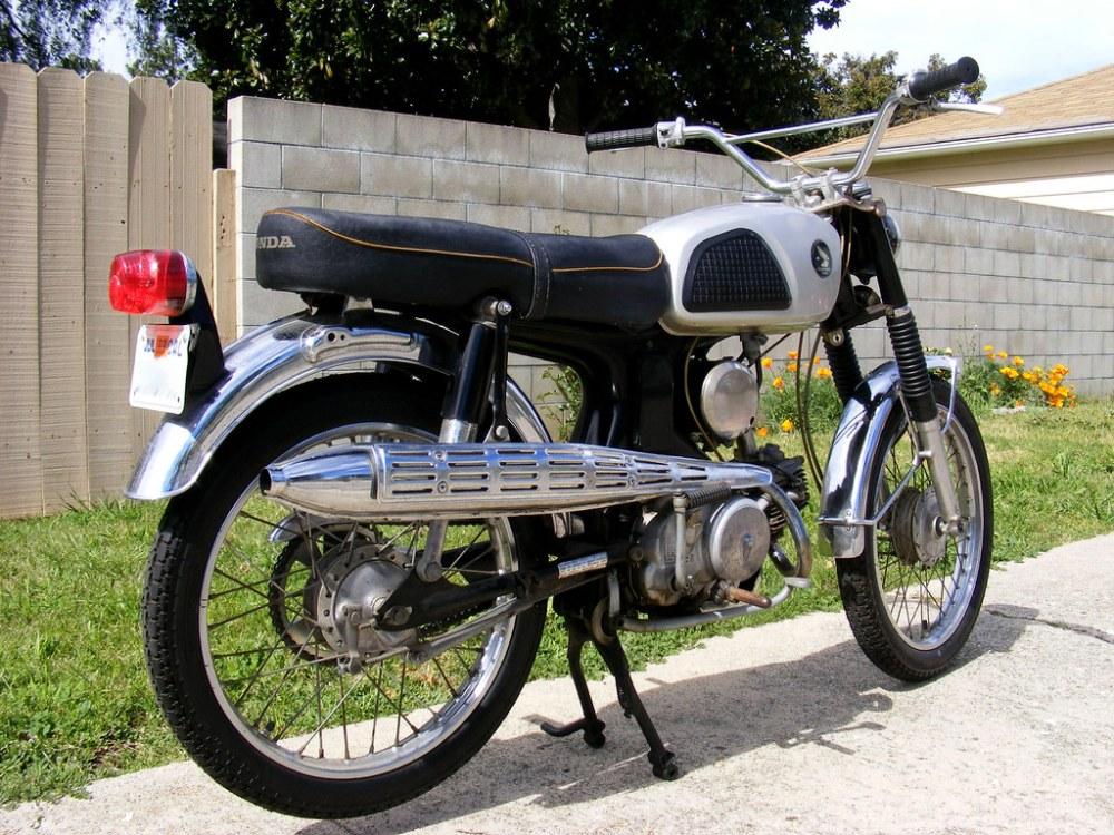 medium resolution of  1967 honda cl90 scrambler motorcycle by christian boehr