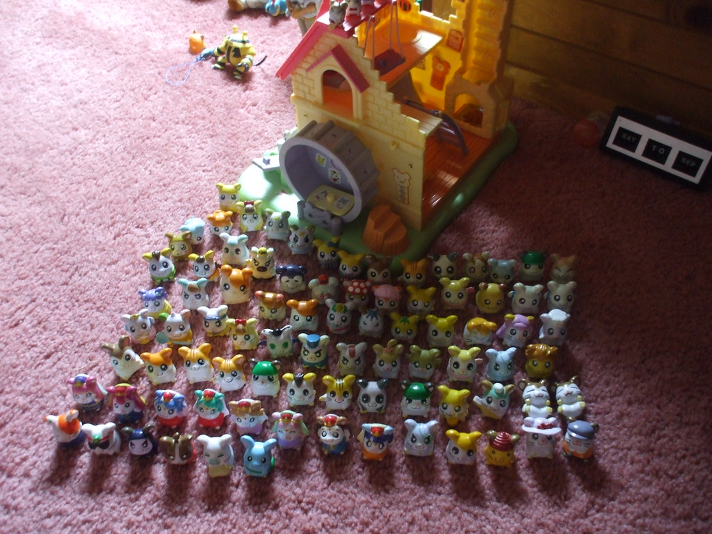Hamtaro Figure Collection This Is My Collection Of 89