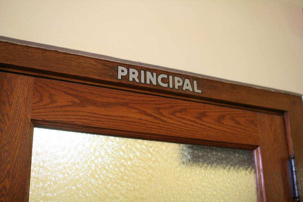 Brown v Board of Education NHS interior principals offic
