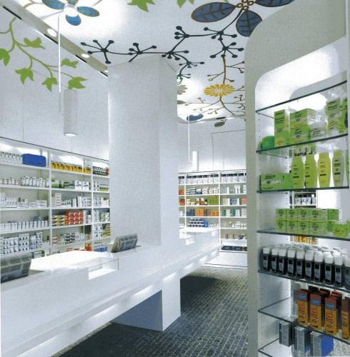 pharmacywallpaperceiling  brettVdesign  Flickr