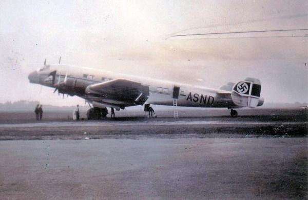 Junkers Ju 90 At Croydon Airport 4 x 900hp HI BMW