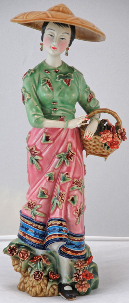 Bk0214y Chinese Porcelain Figurine Statue Porcelain