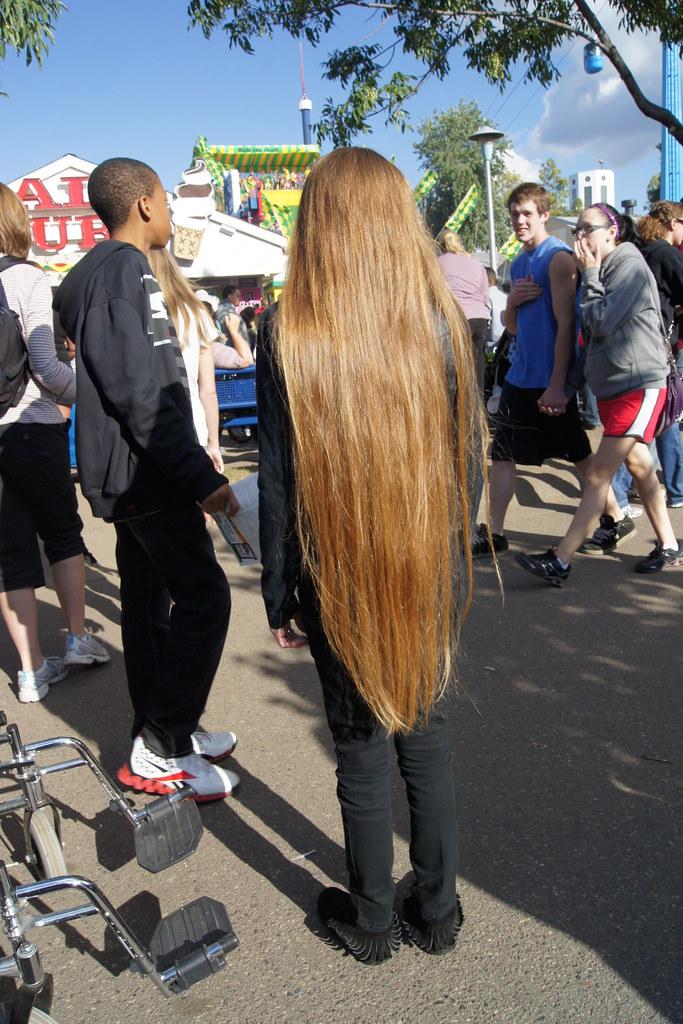MN State Fair 9 4 11 She Said She Hadnt Cut Her Hair