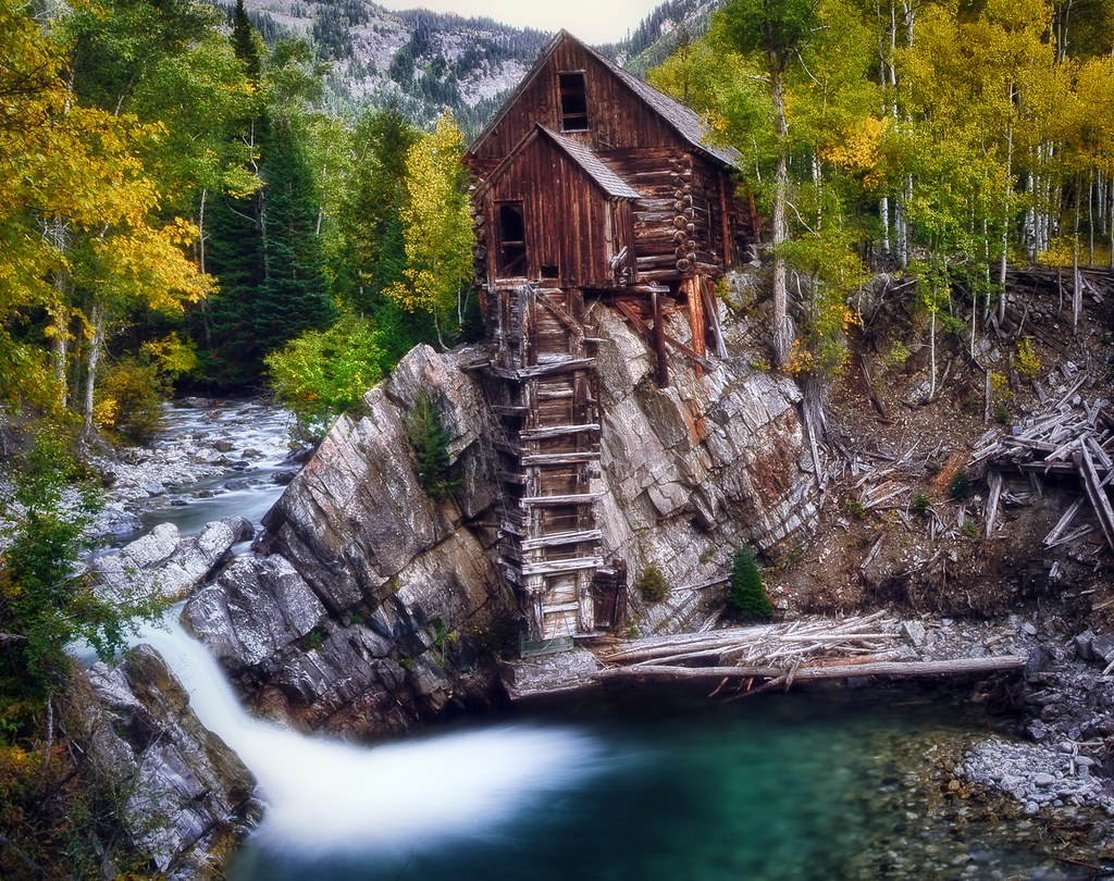 Crystal Mill at Fall  The Crystal Mill or the Old Mill