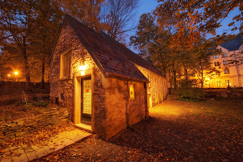 New England Fall Desktop Wallpaper Beck Chapel Indiana University Bloomington