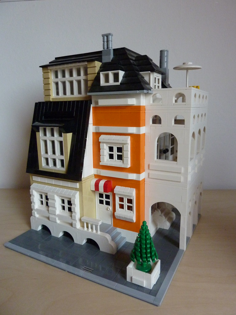 Lego Modular House Skreenkiller Flickr