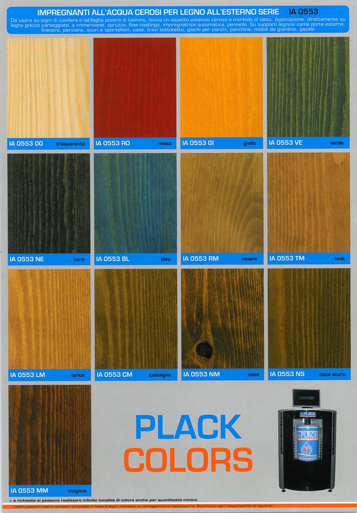 Cartella colori impregnanti cerosi allacqua per legno ia   Flickr