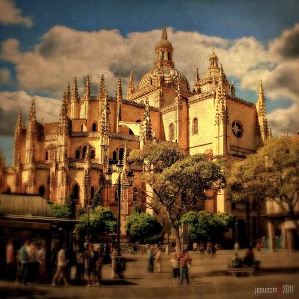 Segovia Cathedral Catedral De Santa Iglesia