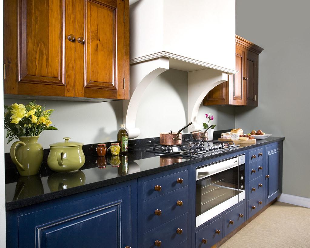 Chalon Blue Kitchen  Chalon use an exclusive range of