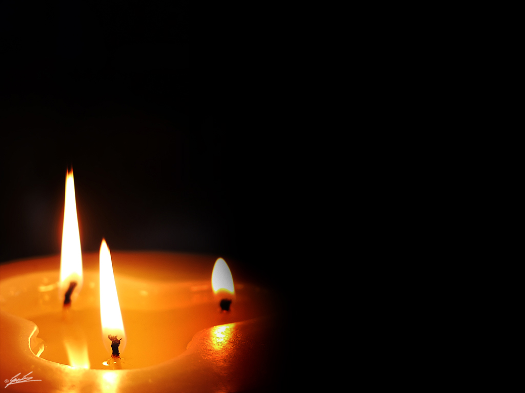 Three Light and a Candle  One of the image that I created