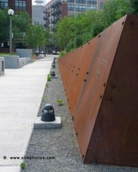 Mary_Bartelme_Park-024 | CorTen steel retaining wall at ...