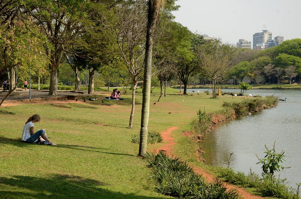 Parque Ibirapuera  O Parque Ibirapuera  o mais