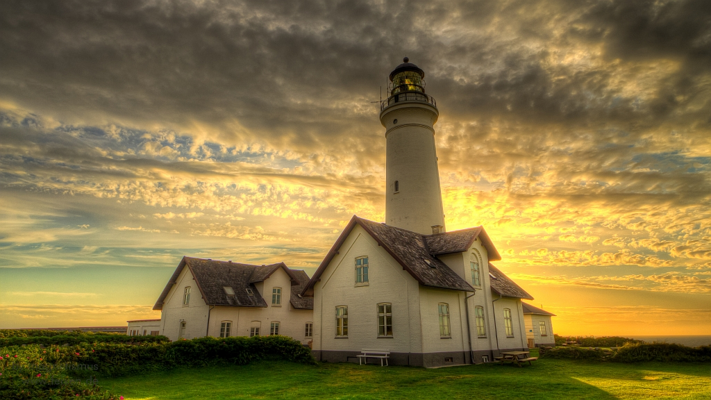 Hirtshals Lighthouse Denmark Hdr Shot In Front Of Sun Th Flickr