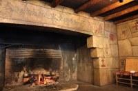 "Lake McDonald Lodge | The ""Walk-in"" fireplace at Lake ..."