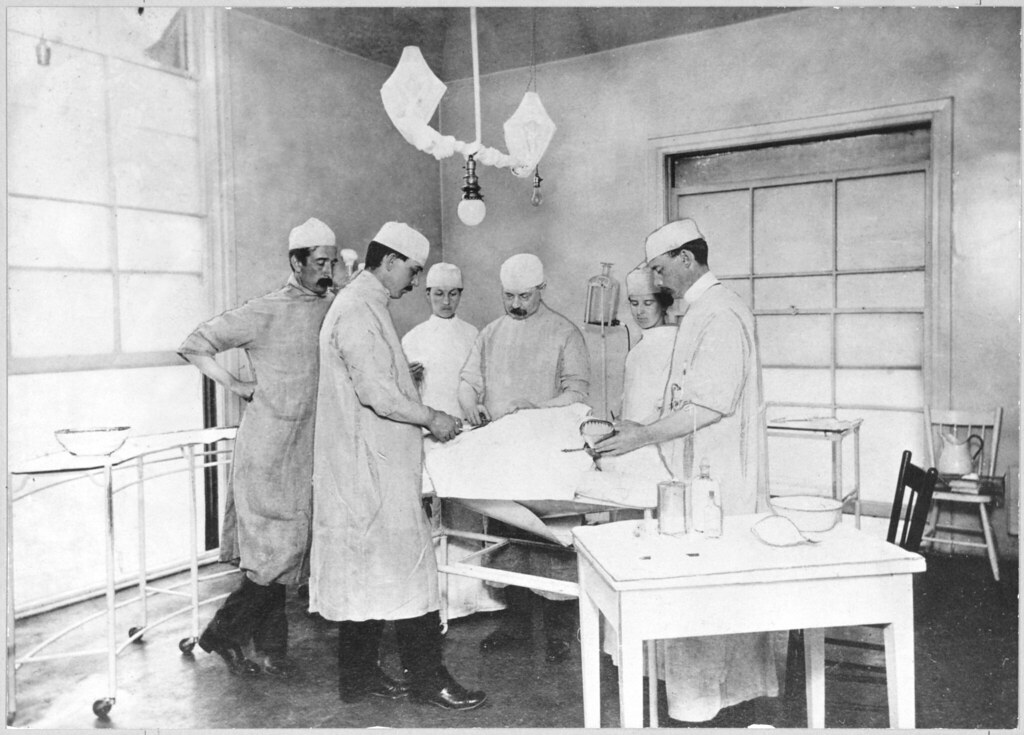 Vancouver General Hospital remembers 100 years Surgery 1