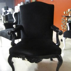 Black Velvet Chair Reclining Patio Chairs And Table 4053 Baroque This Is Simple Eleg Flickr By Diva Rocker Glam 844 448