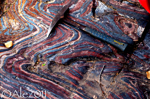 Folding in Archean Banded Iron Formations  One of the