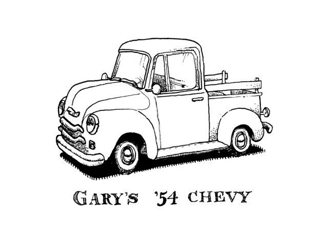 1950 chevy truck camaro