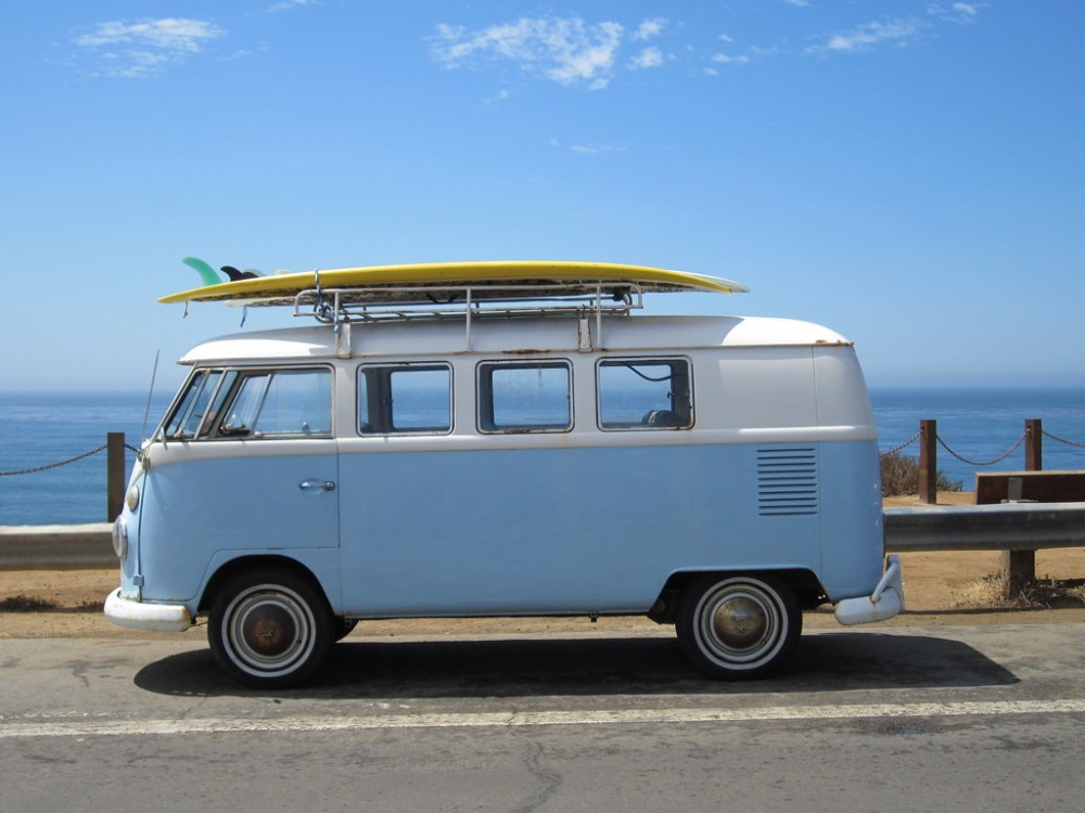 medium resolution of  1967 vw bus by sunny day photography