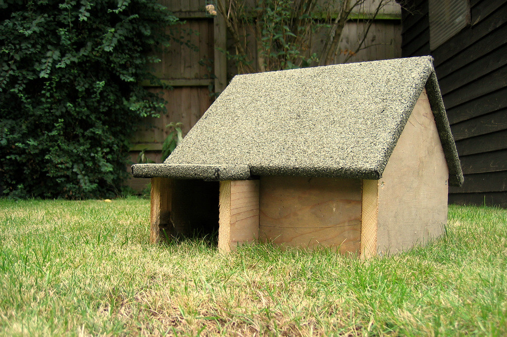Hogitat This Is The Hedgehog House I Recently Built For My Flickr