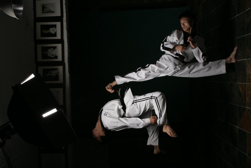 3d Black Background Wallpaper Taekwondo Performance By K Tigers The K Tigers Taekwondo