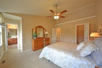 Master bedroom with walk-in closet and master bath. Danbur ...