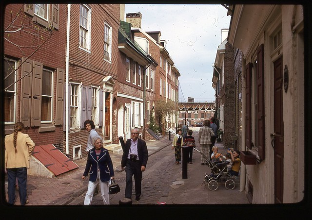 Elfreth S Alley Philadelphia 1973 Flickr Photo Sharing