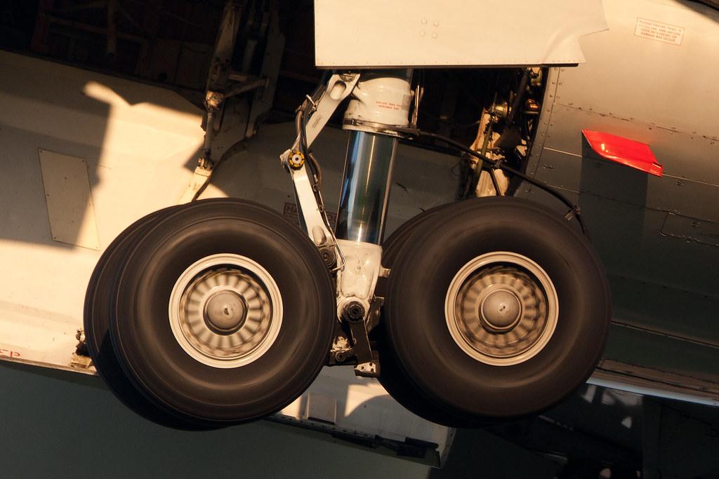 Boeing 767 Landing Gear being Retracted  Tim de Groot