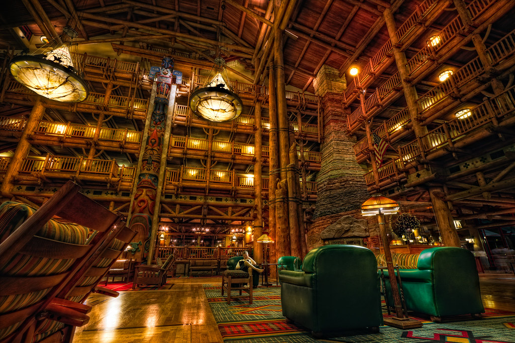 Disney S Wilderness Lodge I Ve Been Fascinated With This