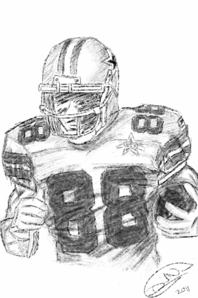 Dez Bryant Sketchbook On IPhone NDAVID24 Flickr