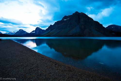 Bow Lake Banff National Park Alberta Canada  Bow Lake