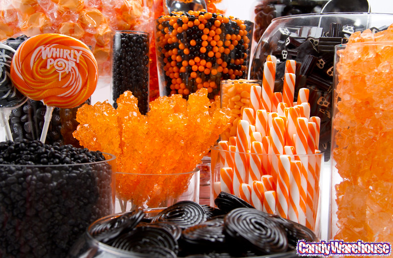 Halloween Candy Buffet  A delicious assortment of sweets