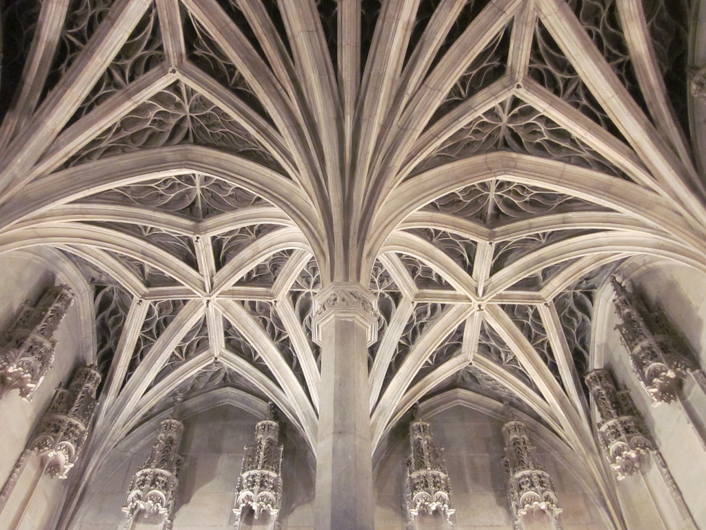 Ribbed vault ceiling of the chapel 2  Muse Cluny  Flickr