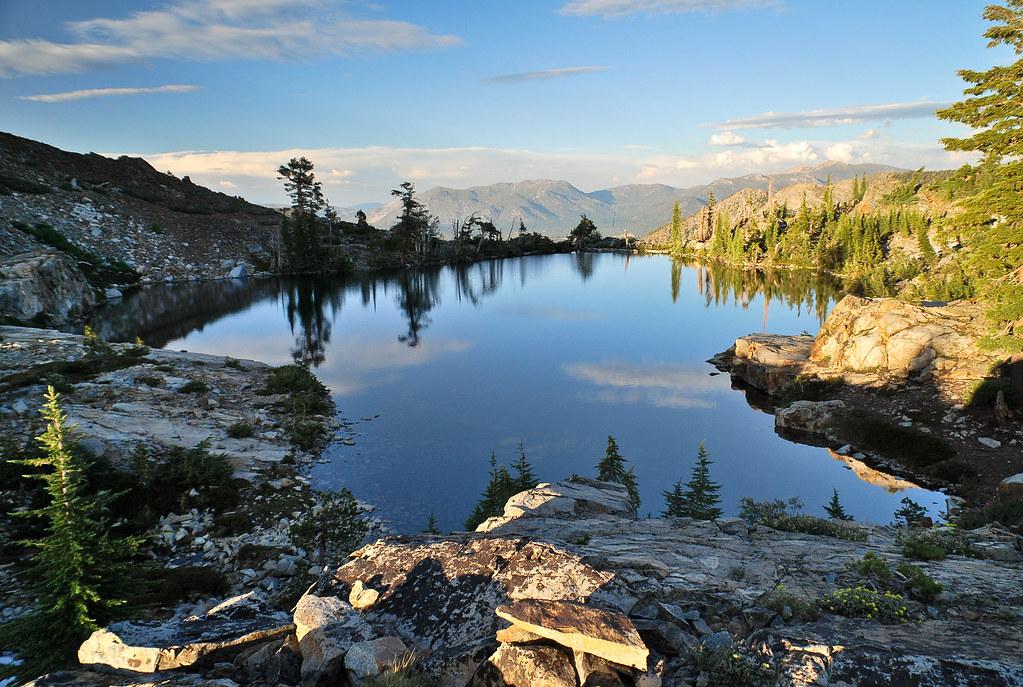 Jabu Lake reflection  Desolation Wilderness  This is a sho  Flickr